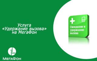 Услуги Мегафон «Ожидание и удержание вызова»