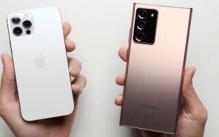Почему Samsung Galaxy Note 20 Ultra круче, чем iPhone 12 Pro