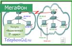 Услуга «Выделенный IP адрес» Мегафон