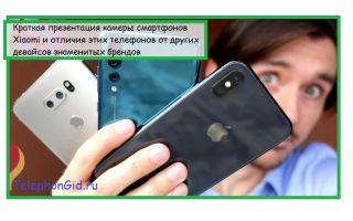 Краткая презентация камеры смартфонов Xiaomi и отличия этих телефонов от других девайсов знаменитых брендов
