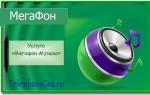 Услуга «Мегафон Музыка»