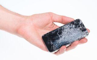 Разбился экран на смартфоне что делать