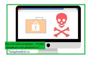 Бесплатный антивирус… Уловка продавцов или реальность?