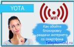 Обход блокировки YOTA: подробная инструкция