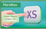 Опция Мегафон «Продли интернет XS»