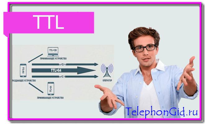 Изменение значения TTL