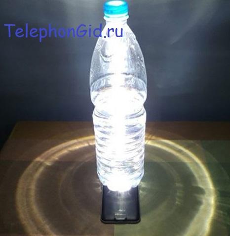 фонарик телефона