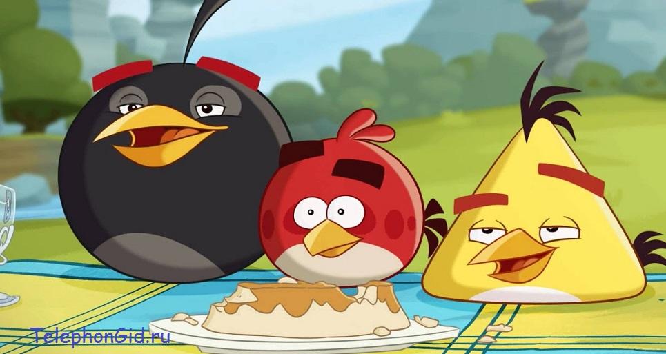 Angry birds - игра нового поколения
