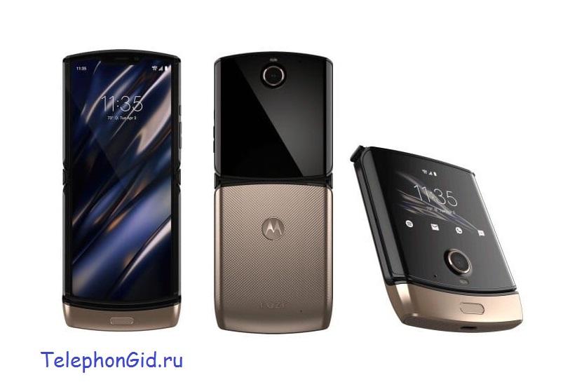 Motorola RAZR 2019 – возрождение легенды в современном и необычном стиле