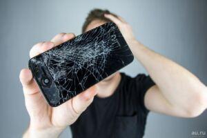 разбитый телефон опасен для здоровья