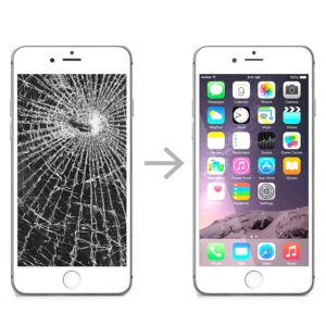 замена стекла у телефона