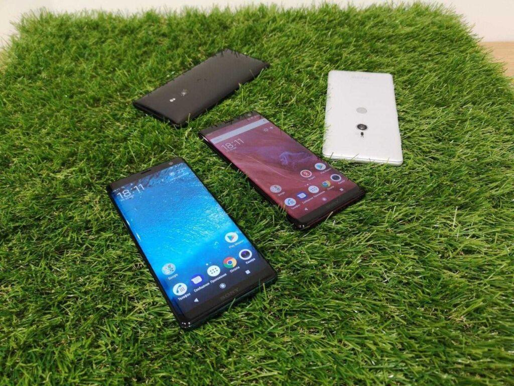 Смартфоны Sony 2021